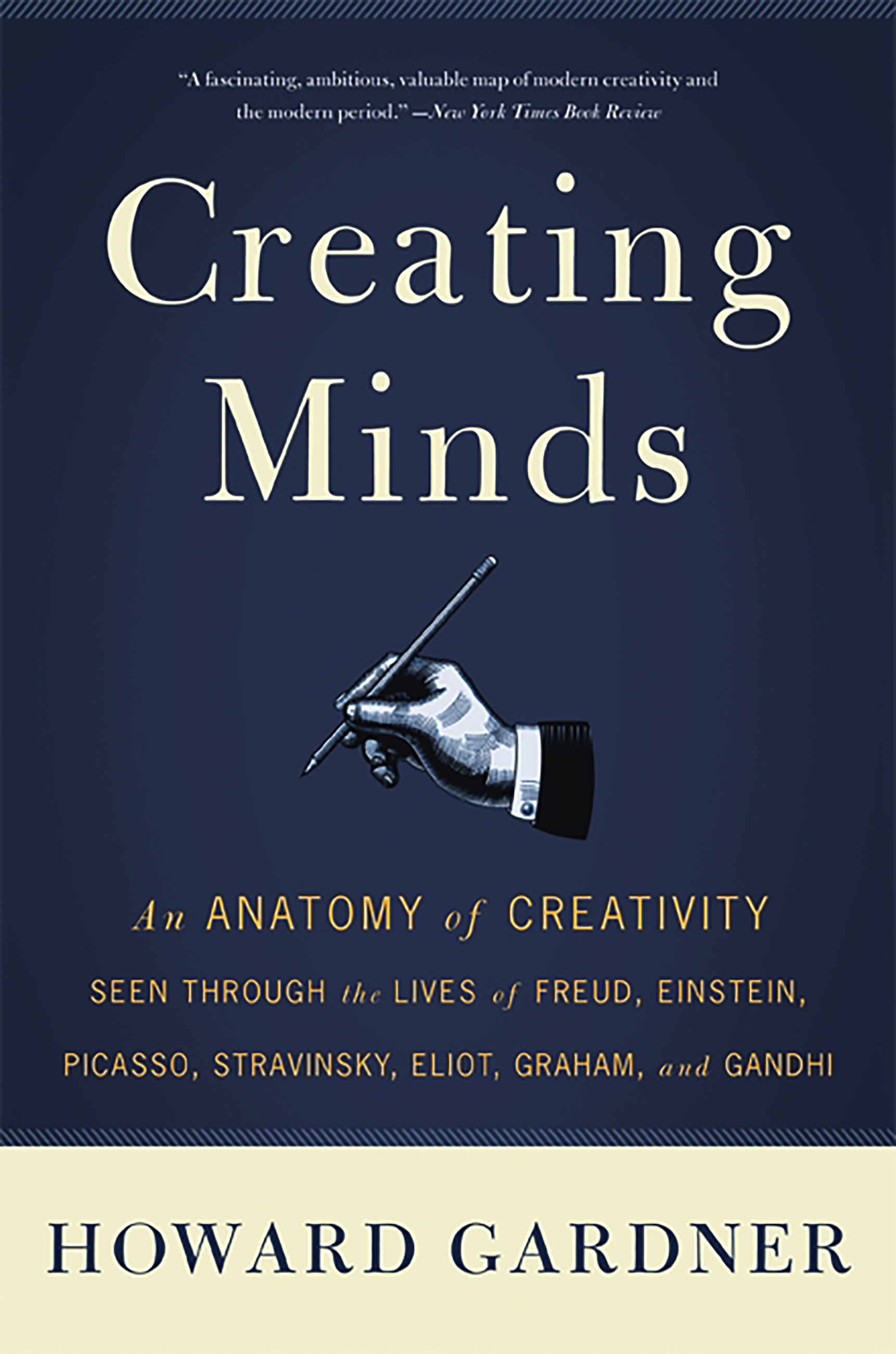 creating minds by howard e gardner basic books